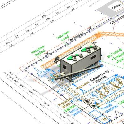 Lageplan Trockner Dryer STR-12